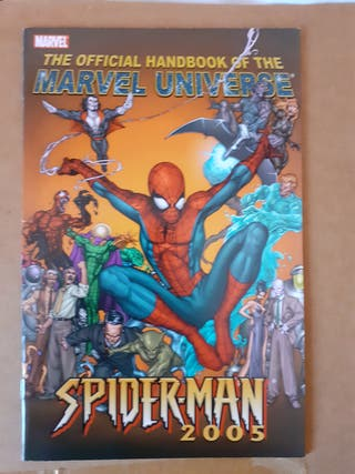 Official Handbook of the Marvel Universe Lote 4