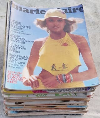 lote revistas(23) Marie Clairie francesa