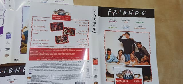 Carátulas DVD Friends Temporada 1