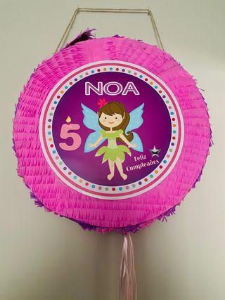 Piñata Noa pirata y hada