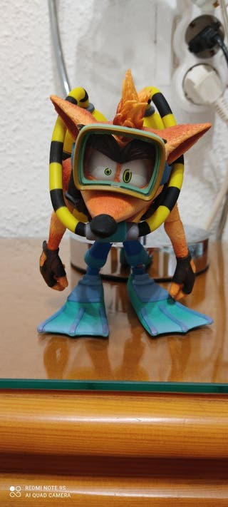 Figura Crash Bandicoot Scuba Gear (Sin Caja)