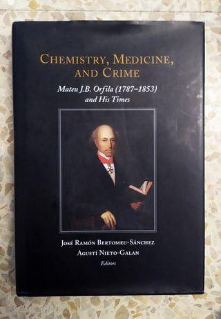 Libro Chemistry, Medicine and Crime.