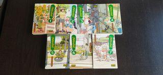 Yotsuba manga tomos 1 a 7