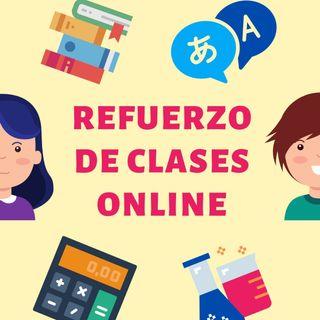 CLASES DE REFUERZO ONLINE