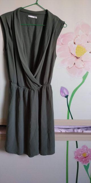 Vestido crespón