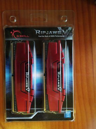 Memoria RAM DDR4 2400Mhz CL15 16GB (2x8gb) G.Skill