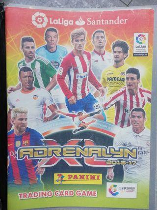 Colección cromos Adrenalyn liga 2016-2017