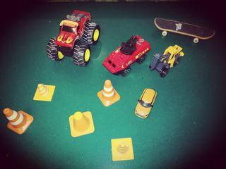 lote de coches pequeños de juguete