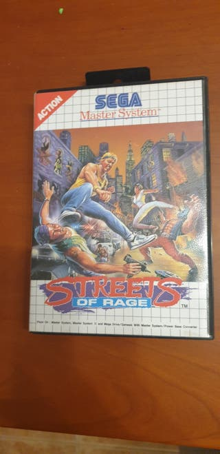 Juego master system streets of rage