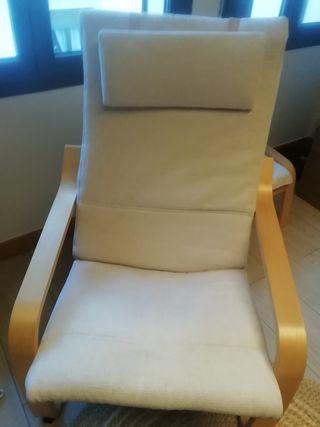 cojin de sillón Poang de ikea