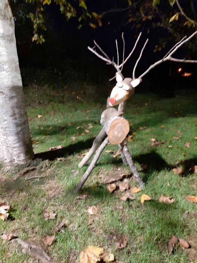 reno navidad madera