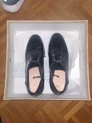 botines de tacón alto negros