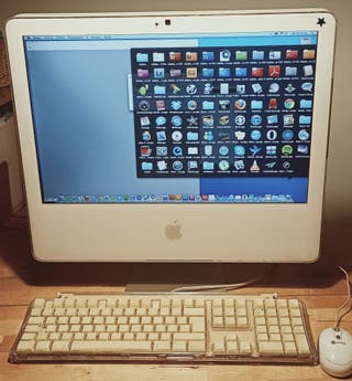 "Ordenador iMac de 21"" (2007)"
