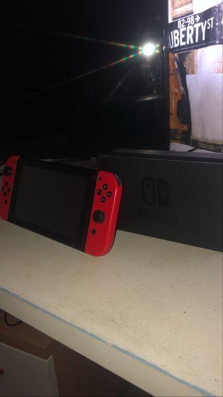 Nintendo Switch + Mario Kart 8 deluxe + accesorios