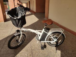 bicicleta elèctrica plegable