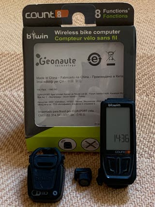 Cuentakilómetros bici inalámbrico