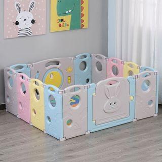 Parque Infantil Bebé de 14 Paneles Corralito Plega