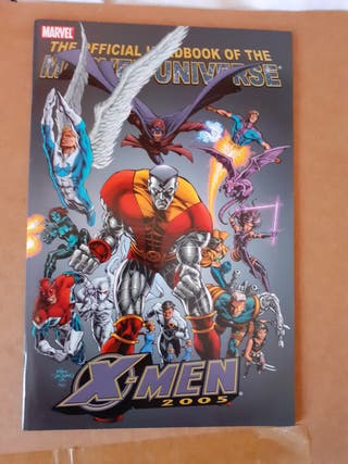 Official Handbook of the Marvel Universe Lote 3
