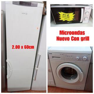 3 Electrodomésticos con garantía