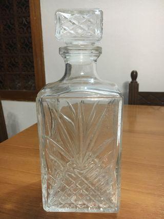 Botella whisky vintage