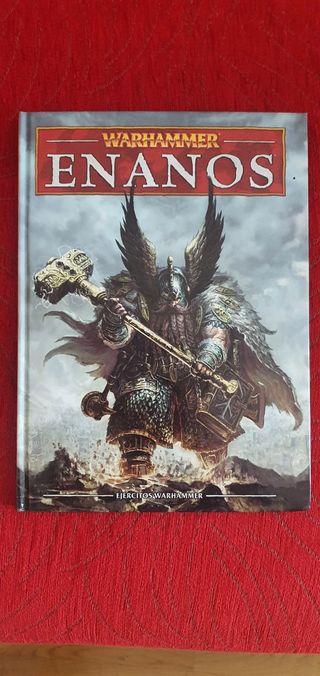 Libro de Ejercito Enanos, Warhammer.