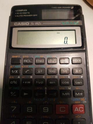 Calculadora científica Casio fx-992s