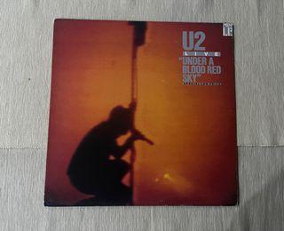 "Lp U2 ""Under a blood red sky"""