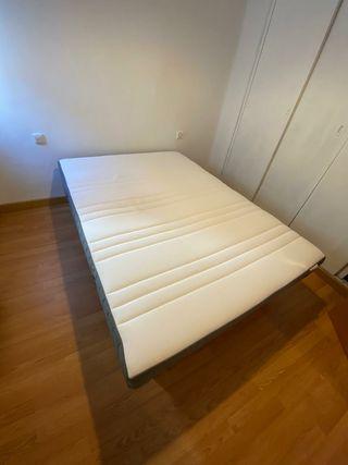 URGE VENDER Colchón nuevo y base 135x190 IKEA