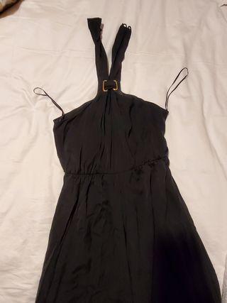 Vestido largo negro de fiesta