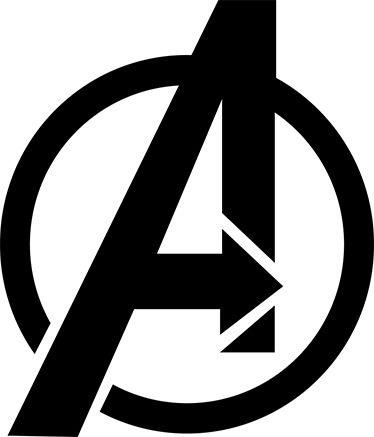 Vinilo Pegatina A de Avengers
