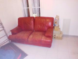 sofa de piel GRATIS