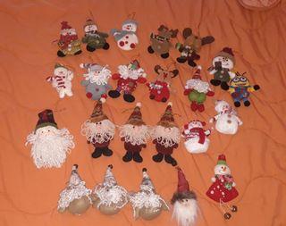Muñecos árbol de navidad
