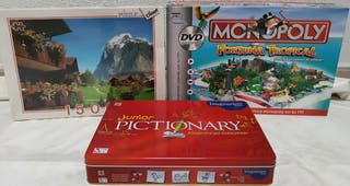 PICTIONARY+MONOPOLY+PUZZLE