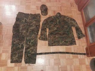 traje camuflaje militar ejercito del aire