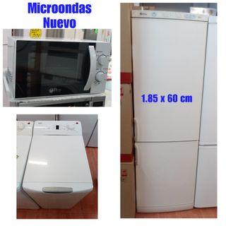 Frigo+Micro+Lavadora Con Garantía