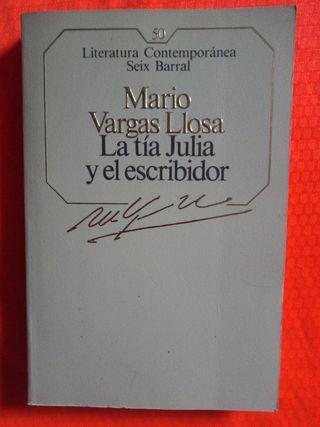 MARIO VARGAS LLOSA, LA TÍA JULIA Y EL ESCRIBIDOR