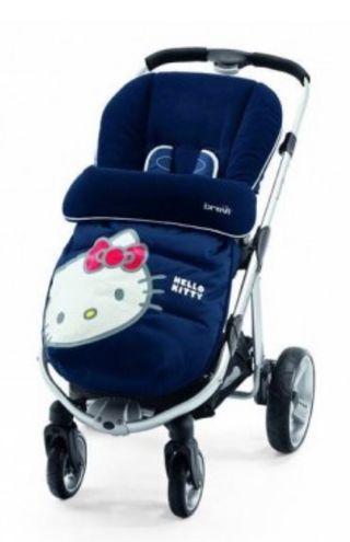 Saco silla bebés Hello Kitty