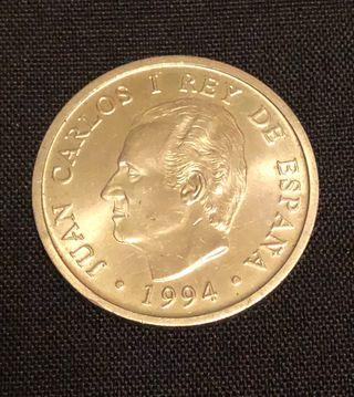 Moneda plata 2000 pesetas Rey Juan Carlos I