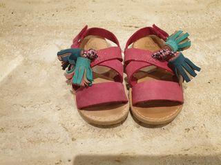 sandalias Zara 21