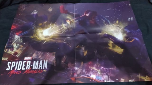 Spiderman miles morales poster