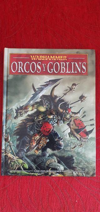 Libro de Ejercito Orcos y Goblins Warhammer
