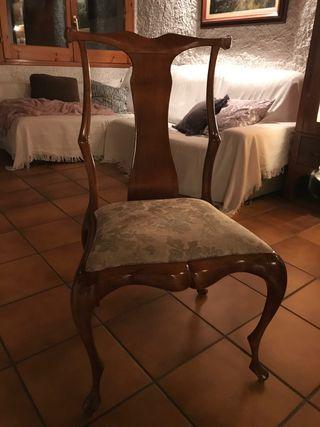 Silla antigua/vintage estilo Gaudí
