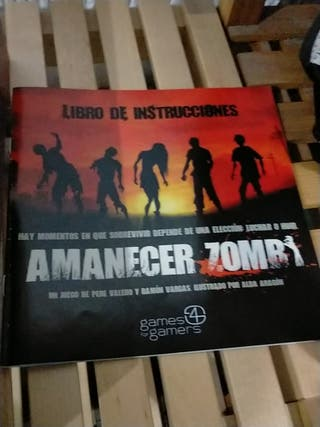 juego de mesa amanecer zombie.