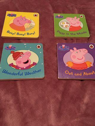 Libros de Peppa Pig en Inglés