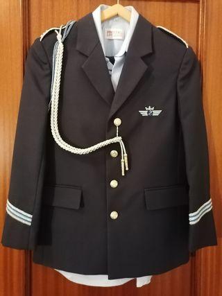 Traje de almirante de comunión