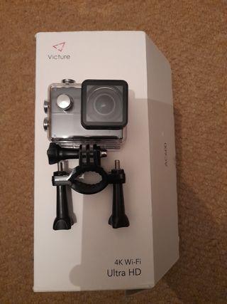 4k action camera, wi-fi, Ultra HD
