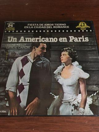 UN AMERICANO EN PARIS, película super 8mm