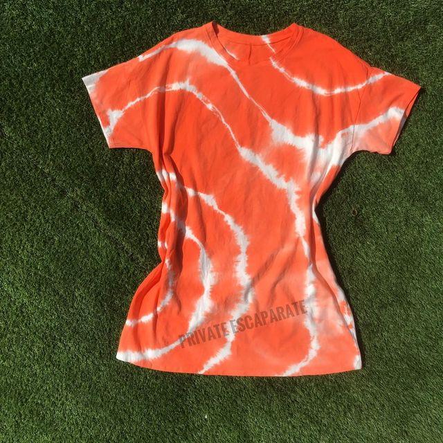 Vestido Tie Naranja