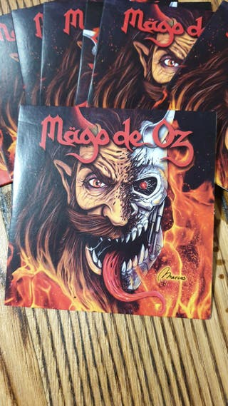 CD Mago de Oz DEMOS 2016