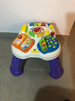 Mesita parlanchina multicolor Vtech